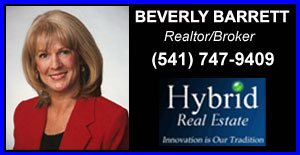 Beverly Barrett (541)747 9409 Real Estate Services in Eugene Springfield and Surrounding Areas