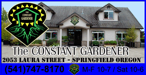 Constant Gardner Eugene Indoor Grow Supplies Organic Fertilizer Eugene Organic Planting Supplies and Organic Pest Control Items at the Plant Supply Store