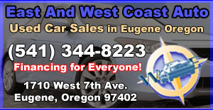 East and West Coast Auto, Used Cars in Eugene Oregon, Used Cars in Springfield Oregon. WE FINANCE EVERYONE - Used Car Sales in Eugene Oregon