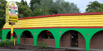 Springfield And Eugene Dining El Rey Mexican Restaurant In