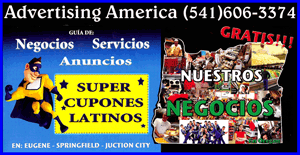 Nuestros Negocios-America Ochoa (541)606-3374 Latino Advertising and Latino Business Coupons in Eugene Oregon
