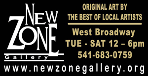 NEW ZONE Art Gallery in Eugene Oregon - Original Art by the best of local Artists