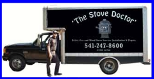 the Stove Doctor, Wood Stoves, Pellet Stoves and Gas Stove Repair and Installation in Eugene Oregon